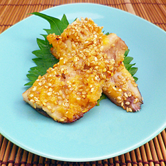 ☆いわしの味噌ゴマ焼き
