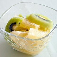 ☆グレープフルーツとキウイのハニーマリネ