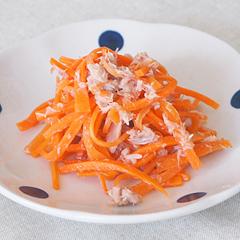 ☆にんじんとツナの和風サラダ