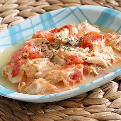 ☆ささみとトマトのチーズ焼き