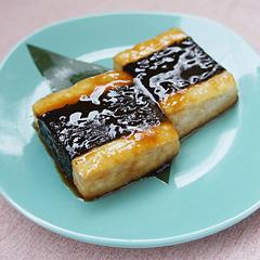 ☆海苔巻き豆腐の甘辛ソテー