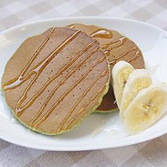 ☆ほうれん草とバナナのパンケーキ