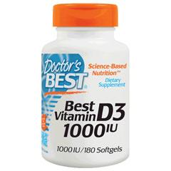 ベスト ビタミン D3 1000IU