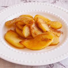 ☆焼きりんごのシナモンがけ