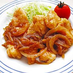☆鶏胸肉のしょうが焼き