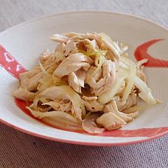 ☆ささみと玉ねぎのポン酢サラダ