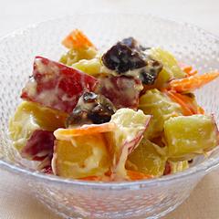 ☆サツマイモとプルーンのサラダ