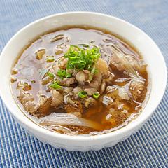 ☆山椒風味の牛肉春雨スープ