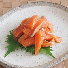 ☆サーモンのわさび醤油マリネ
