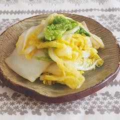 ☆白菜の柚子胡椒和え