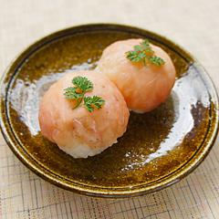 ☆生ハムとクリームチーズの手まり寿司
