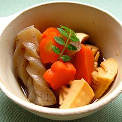 ☆タケノコとこんにゃくの煮物