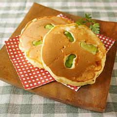 ☆空豆チーズパンケーキ