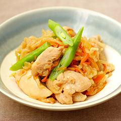 ☆切り干し大根と鶏肉の煮物 (食物繊維補給)