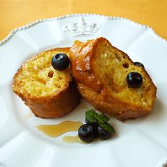 ☆豆乳フレンチトースト (タンパク質 補給)