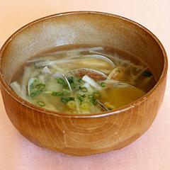 ☆大根とあさりの味噌汁 (ビタミンB12 補給)