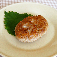 ☆鶏ひき肉とツナのハンバーグ (ビタミンB6 補給)