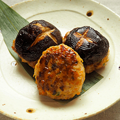 ☆椎茸の肉詰め (ビタミンB1 補給)