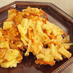 ☆高野豆腐の寄せ揚げ (食物繊維 補給)