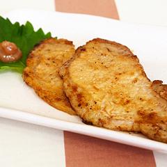 ☆豚の梅風味しょうが焼き (ビタミンB1 補給)