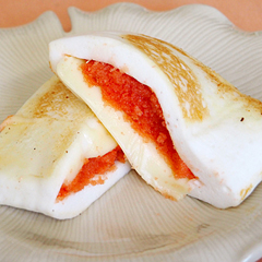 ☆はんぺんの明太チーズ焼き (タンパク質 補給)