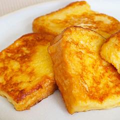 ☆豆乳シナモンフレンチトースト (タンパク質 補給)