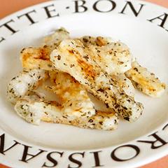☆長芋のバジルフライ (消化酵素 補給)
