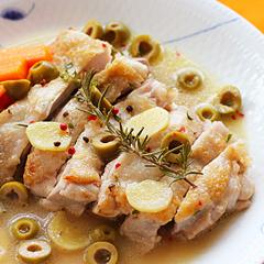 ☆チキンのしょうがスープ煮込み (タンパク質 補給)