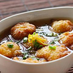☆大和芋のカリふわ揚げ出汁 (消化酵素 補給)