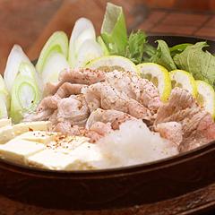 ☆豚と水菜のさっぱり鍋 (ビタミンB1 補給)