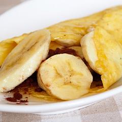 ☆ココアバナナクレープ (ビタミンB群 補給)
