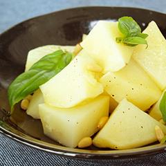 ☆ジャガイモのバジルサラダ (ビタミンC 補給)