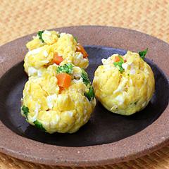 ☆茶巾卵 (タンパク質 補給)