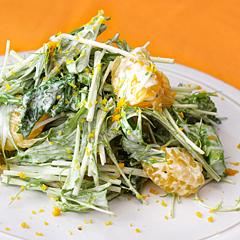 ☆はっさくのサラダ (ビタミンC 補給)