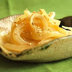 ☆玉ねぎの醤油炒め (ケルセチン 補給)
