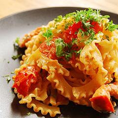 ☆トマトとサーモンのパスタ