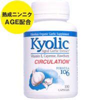 キョーリック AGE フォーミュラ106(熟成ニンニクエキス+ビタミンE+カイエン+ホーソーン)