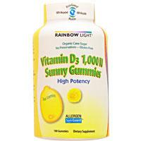 ★ビタミンD3 1000IU サニーグミ サワーレモン