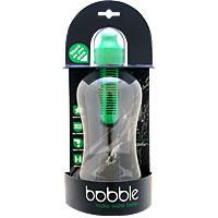 ☆≪販売終了≫Bobble ボブル(浄水フィルターカートリッジ付きウォーターボトル) グリーン
