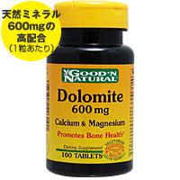 ☆≪販売終了≫ドロマイト 600mg(天然カルシウム&マグネシウム)