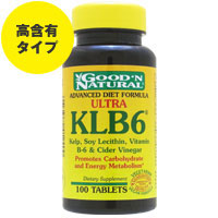 ☆≪販売終了≫ウルトラKLB6(ケルプ、レシチン、ビタミンB6配合ダイエットフォーミュラ)※返品不可