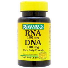 ☆≪販売終了≫【まとめ買い割引あり】 RNA 100mg&DNA 100mg(核酸サプリメント)