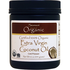 100%オーガニック エキストラバージン ココナッツオイル(MCTオイル含有)