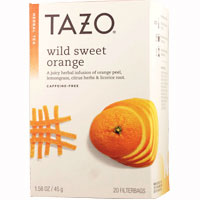 TAZO タゾティー ワイルドスウィートオレンジ カフェインフリー ハーブティー