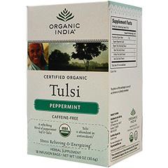 Tulsi トゥルシーティー ペパーミント ※カフェインフリー