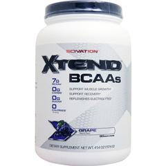 【賞味期限2020年8月】[ 大容量約1.2kg ] エクステンド (BCAA+Lグルタミン+シトルリン) ※グレープ