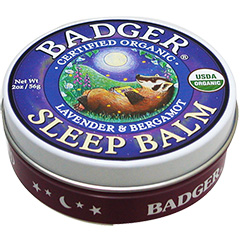Badger バジャー オーガニック スリープバーム