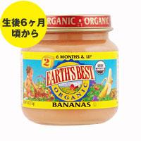 ☆≪販売終了≫アースズベスト オーガニック ベビーフード ※バナナ