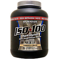 ISO 100 加水分解100%ホエイプロテインアイソレート ※クッキー&クリーム