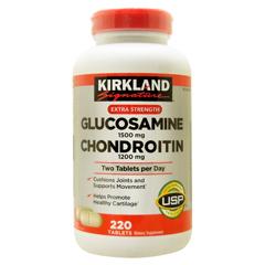 カークランド グルコサミン 1500mg & コンドロイチン 1200mg